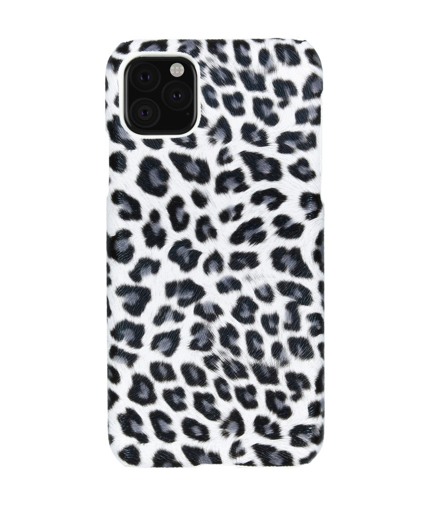 Luipaard Design Backcover iPhone 11 Pro Max - Wit