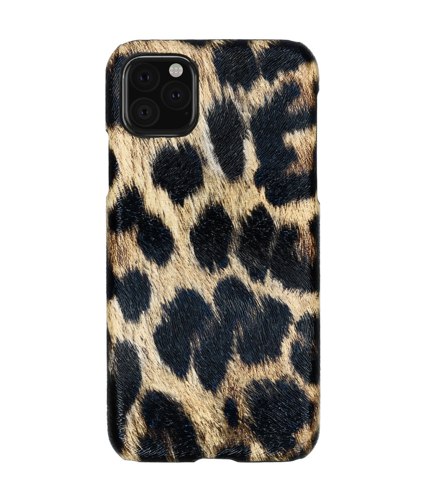 Luipaard Design Backcover iPhone 11 Pro Max - Bruin