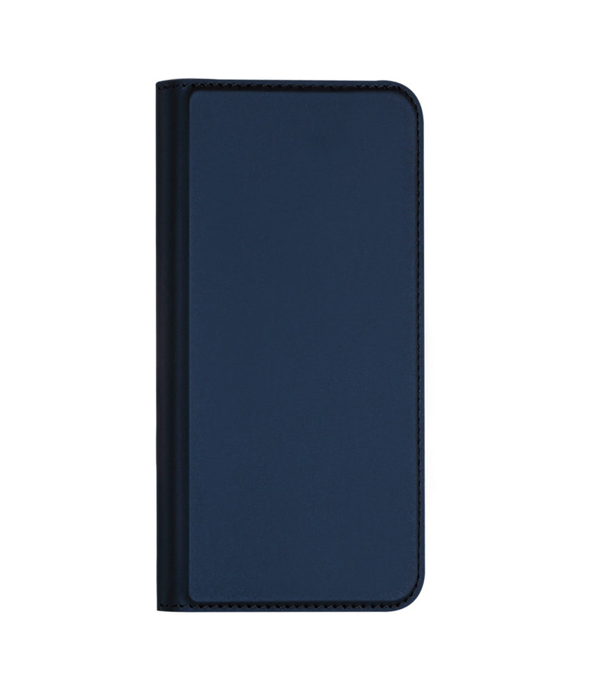 Dux Ducis Slim Softcase Booktype iPhone 11 Pro Max - Donkerblauw