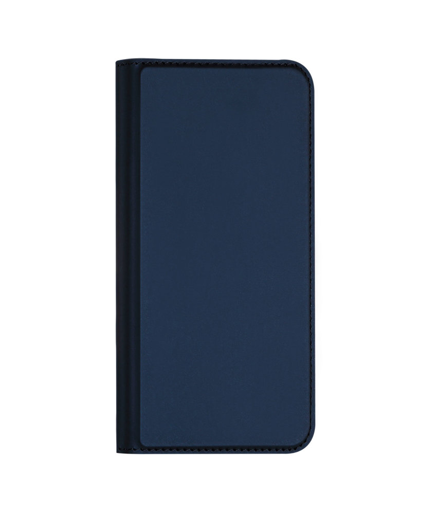 Dux Ducis Slim Softcase Booktype iPhone 11 - Donkerblauw