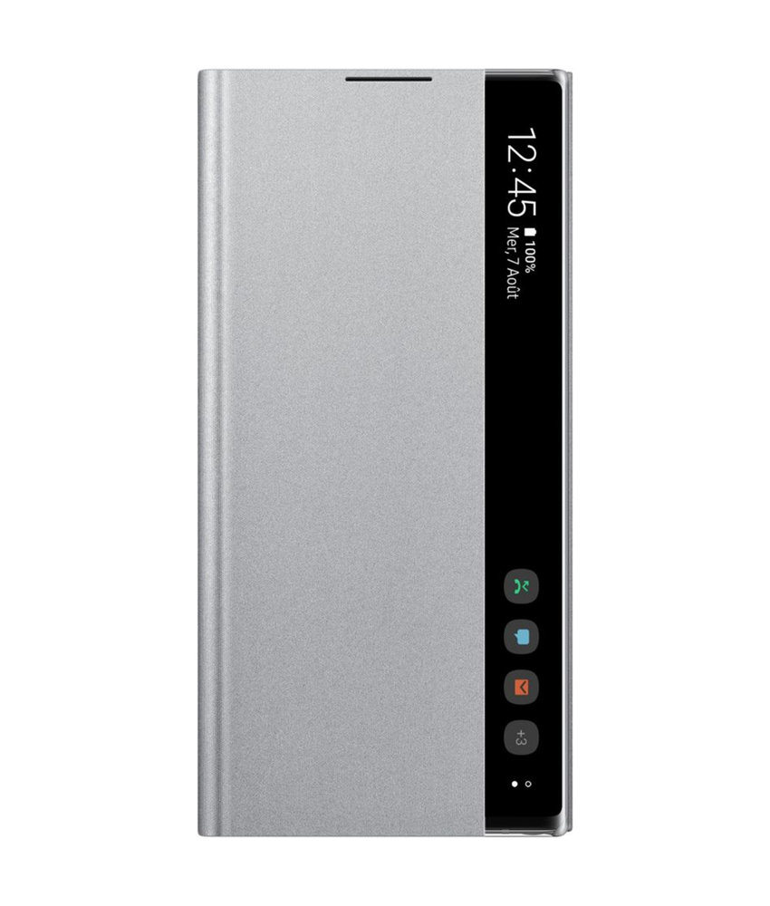 Samsung Clear View Standing Booktype Galaxy Note 10 Plus - Zilver