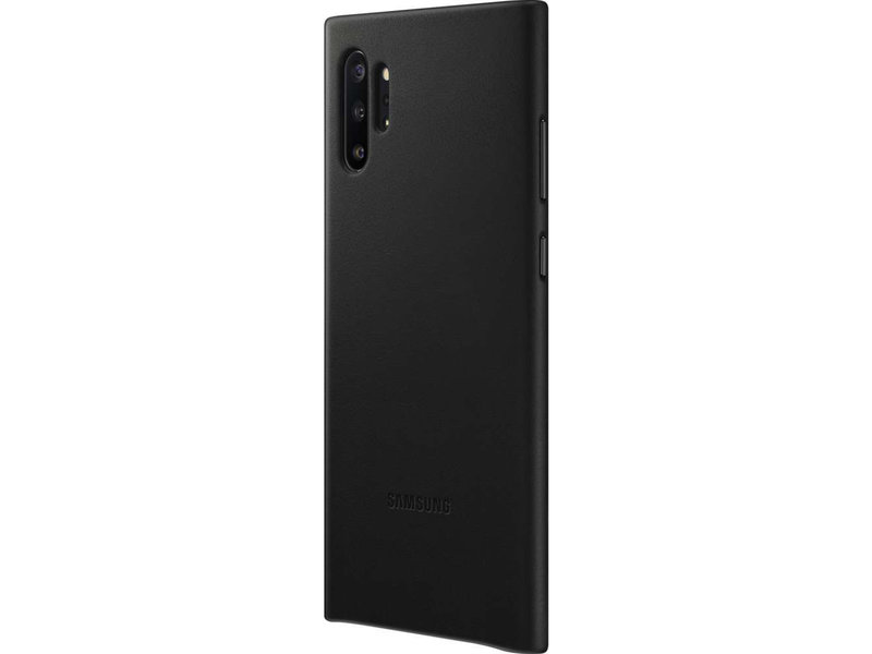 Samsung Galaxy Note 10 Plus hoesje - Samsung Leather Backcover voor