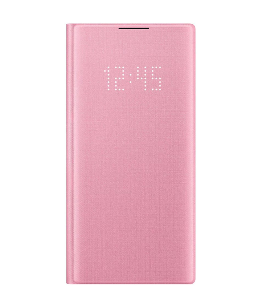 Samsung LED View Booktype Samsung Galaxy Note 10 - Roze