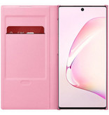 Samsung LED View Booktype voor de Samsung Galaxy Note 10 - Roze