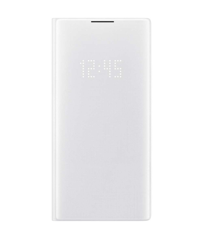 Samsung LED View Booktype Samsung Galaxy Note 10 Plus - Wit