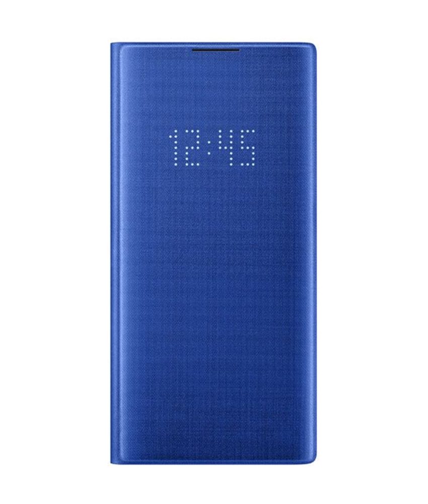 Samsung LED View Booktype Samsung Galaxy Note 10 Plus - Blauw