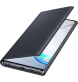 Samsung Galaxy Note 10 Plus hoesje - Samsung LED View Booktype
