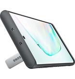 Samsung Protective Standing Backcover voor de Samsung Galaxy Note 10 - Zilver