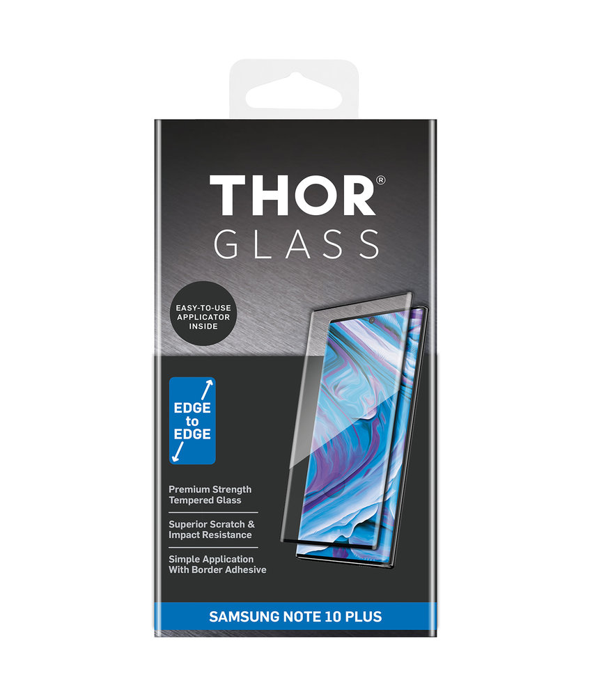 THOR Full Screenprotector + Apply Frame Galaxy Note 10 Plus