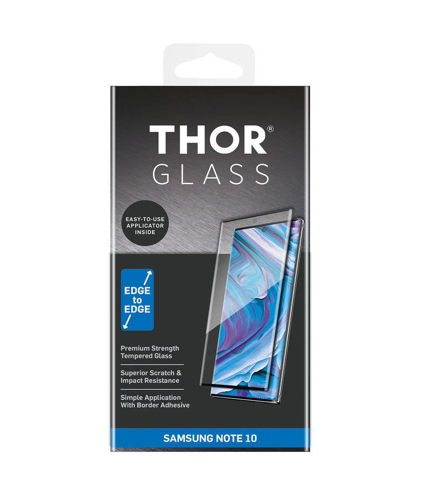 THOR Full Screenprotector + Apply Frame Samsung Galaxy Note 10