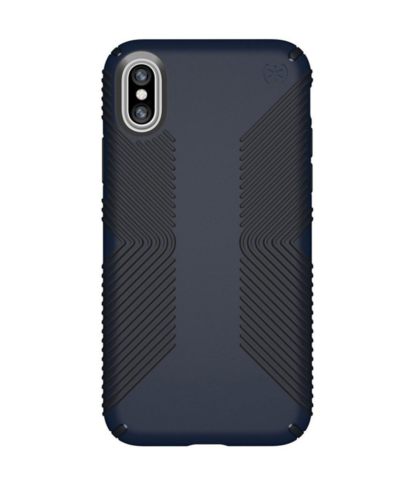 Speck Presidio Grip Backcover iPhone X / Xs - Blauw
