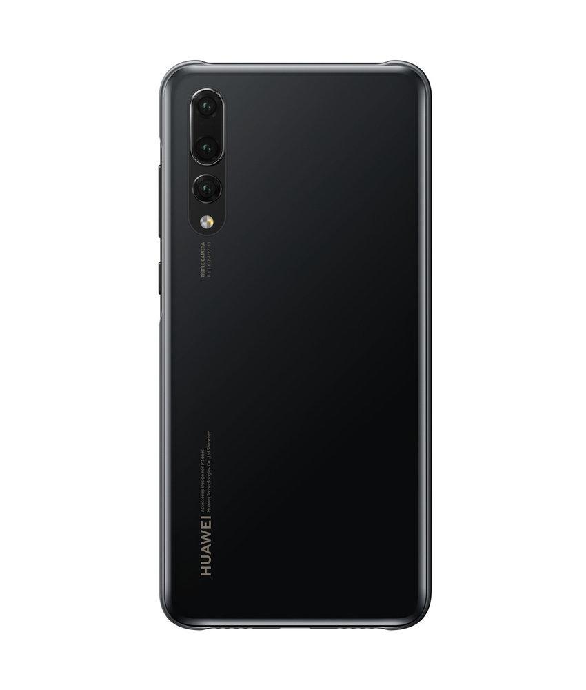 Huawei Color Backcover Huawei P20 Pro - Zwart