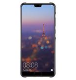 Huawei Color Backcover voor de Huawei P20 - Zwart