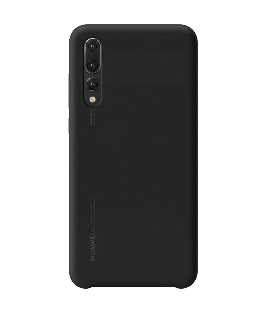 Huawei Silicone Backcover Huawei P20 Pro - Zwart