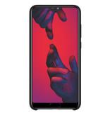 Huawei Silicone Backcover voor de Huawei P20 Pro - Zwart