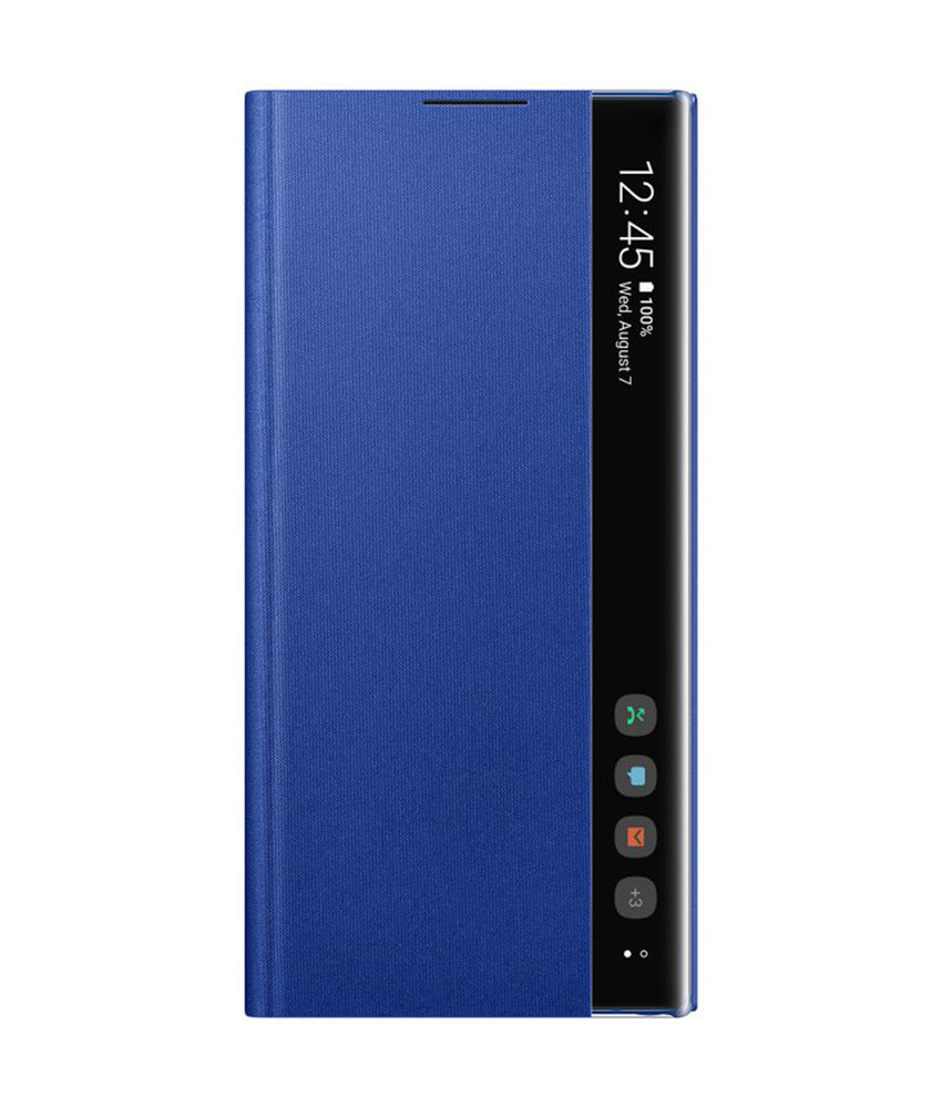 Samsung Clear View Standing Booktype Galaxy Note 10 Plus - Blauw