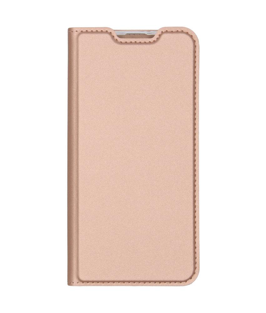 Dux Ducis Slim Softcase Booktype Samsung Galaxy M20 Power - Rosé Goud