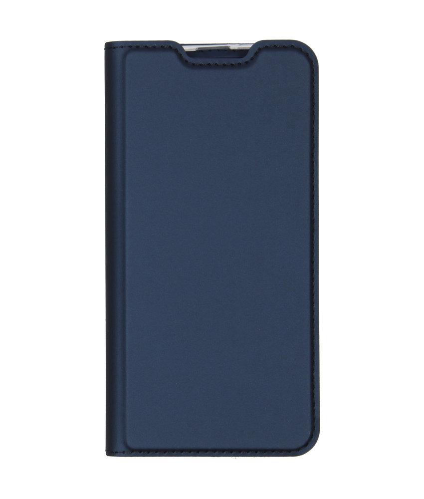 Dux Ducis Slim Softcase Booktype Samsung Galaxy M20 Power - Blauw
