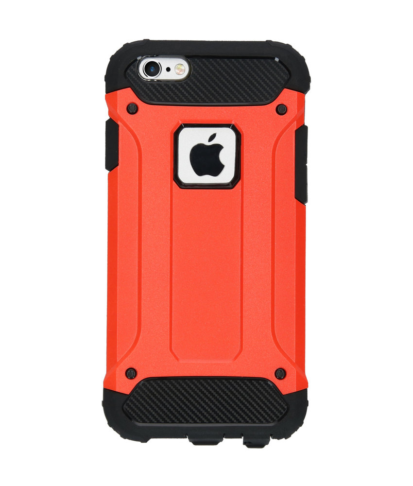 iMoshion Rugged Xtreme Backcover iPhone 6 / 6s - Rood
