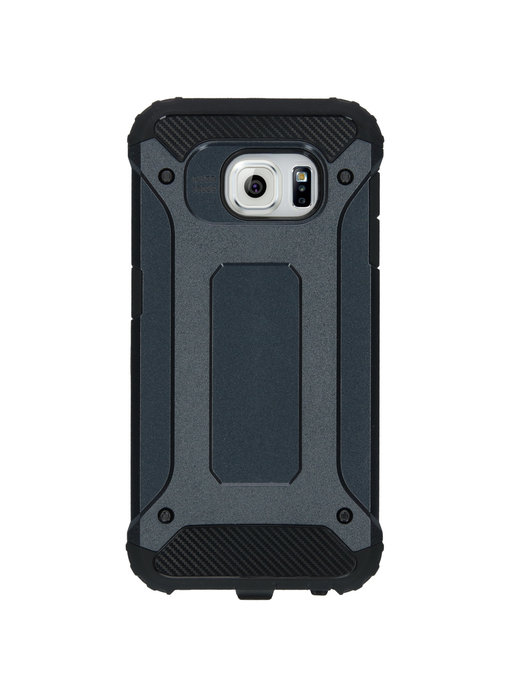 iMoshion Rugged Xtreme Backcover Samsung Galaxy S6 - Donkerblauw