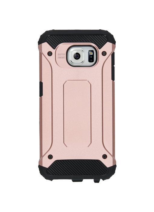 iMoshion Rugged Xtreme Backcover Samsung Galaxy S6 - Rosé Goud