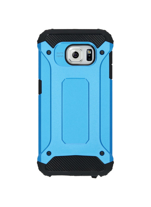 iMoshion Rugged Xtreme Backcover Samsung Galaxy S6 - Lichtblauw