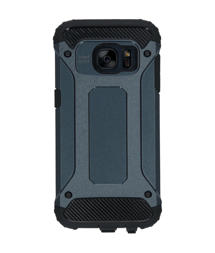 iMoshion Rugged Xtreme Backcover Samsung Galaxy S7 - Donkerblauw