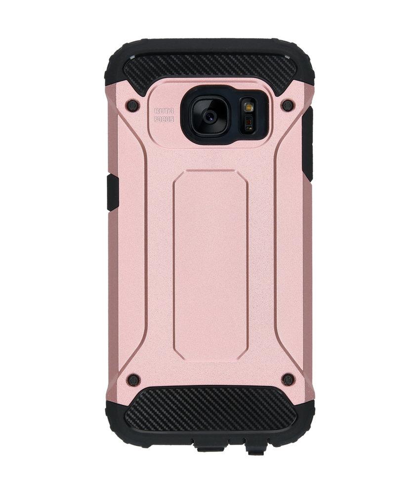 iMoshion Rugged Xtreme Backcover Samsung Galaxy S7 - Rosé Goud