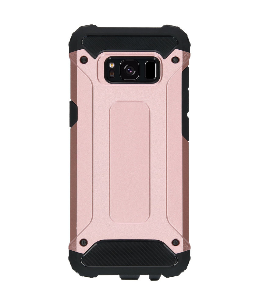 iMoshion Rugged Xtreme Backcover Samsung Galaxy S8 - Rosé Goud