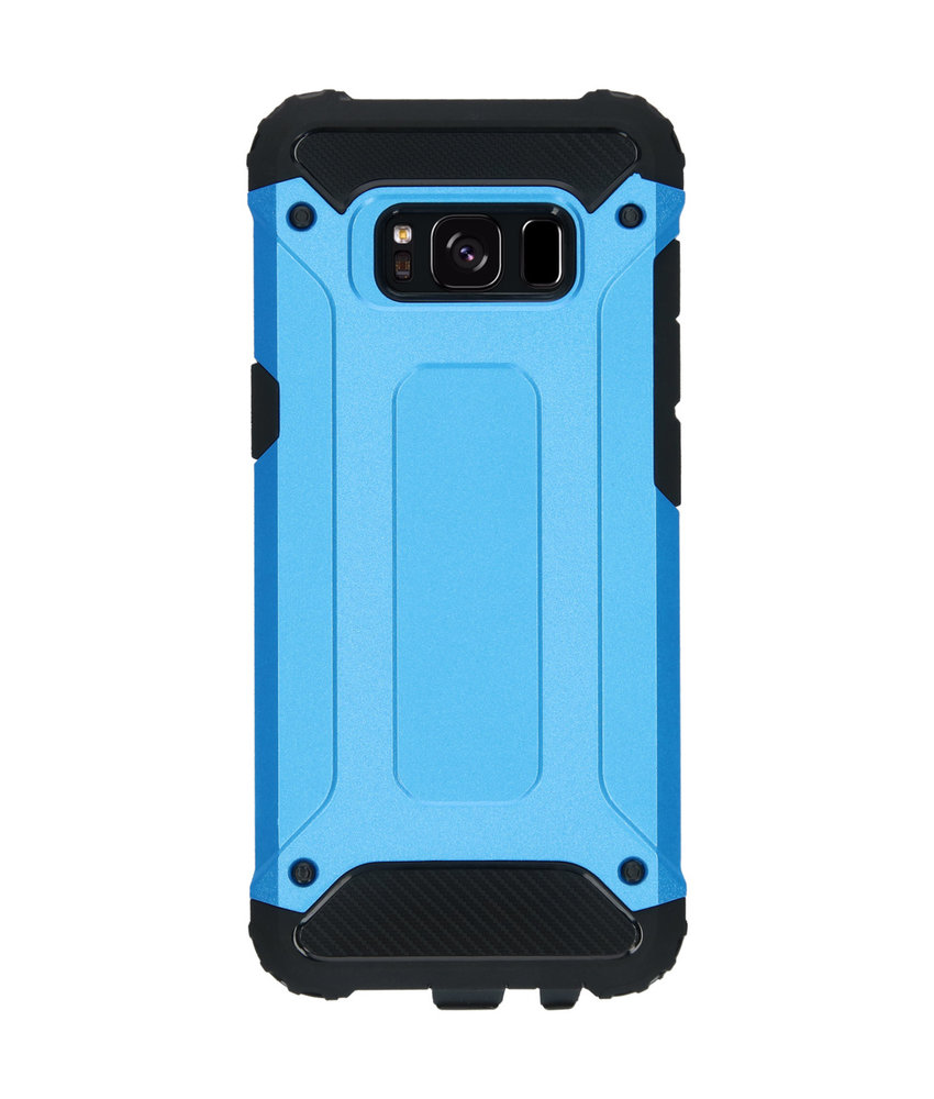 iMoshion Rugged Xtreme Backcover Samsung Galaxy S8 - Lichtblauw