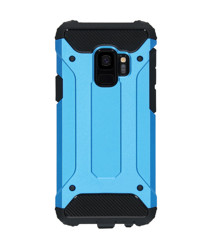 iMoshion Rugged Xtreme Backcover Samsung Galaxy S9 - Lichtblauw