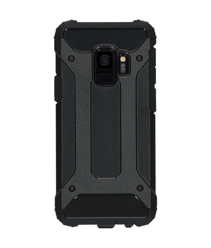 iMoshion Rugged Xtreme Backcover Samsung Galaxy S9 - Zwart