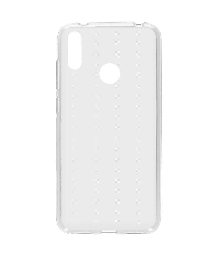 Softcase Backcover Huawei Y7 (2019) - Transparant