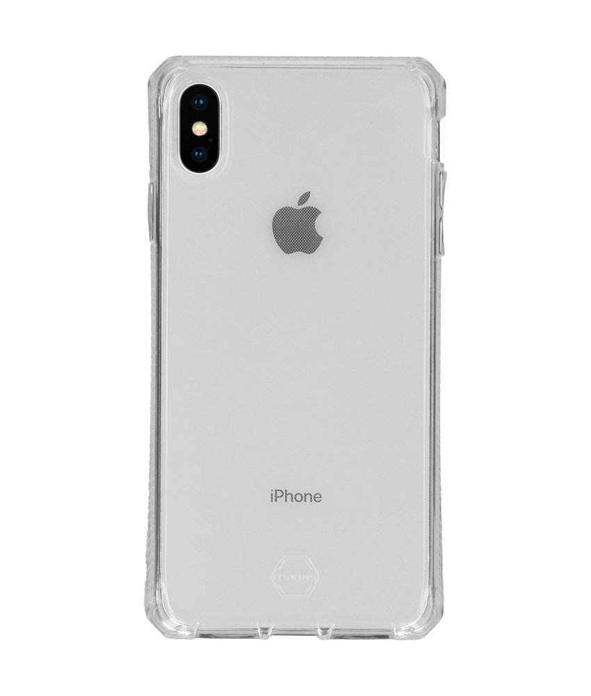 Itskins Spectrum Backcover iPhone Xs Max - Transparant
