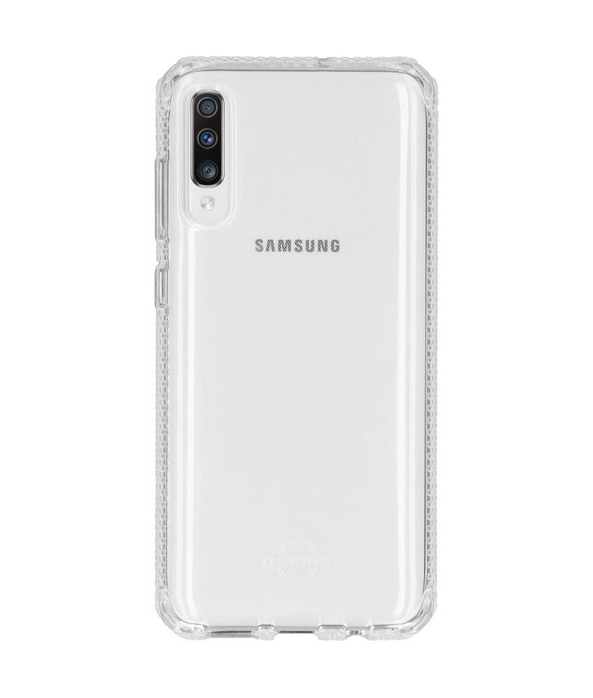 Itskins Spectrum Backcover Samsung Galaxy A70 - Transparant