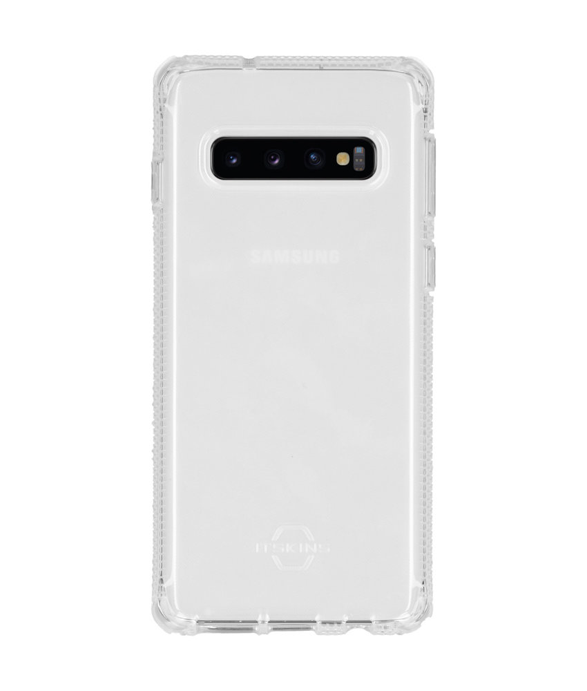 Itskins Spectrum Backcover Samsung Galaxy S10 - Transparant