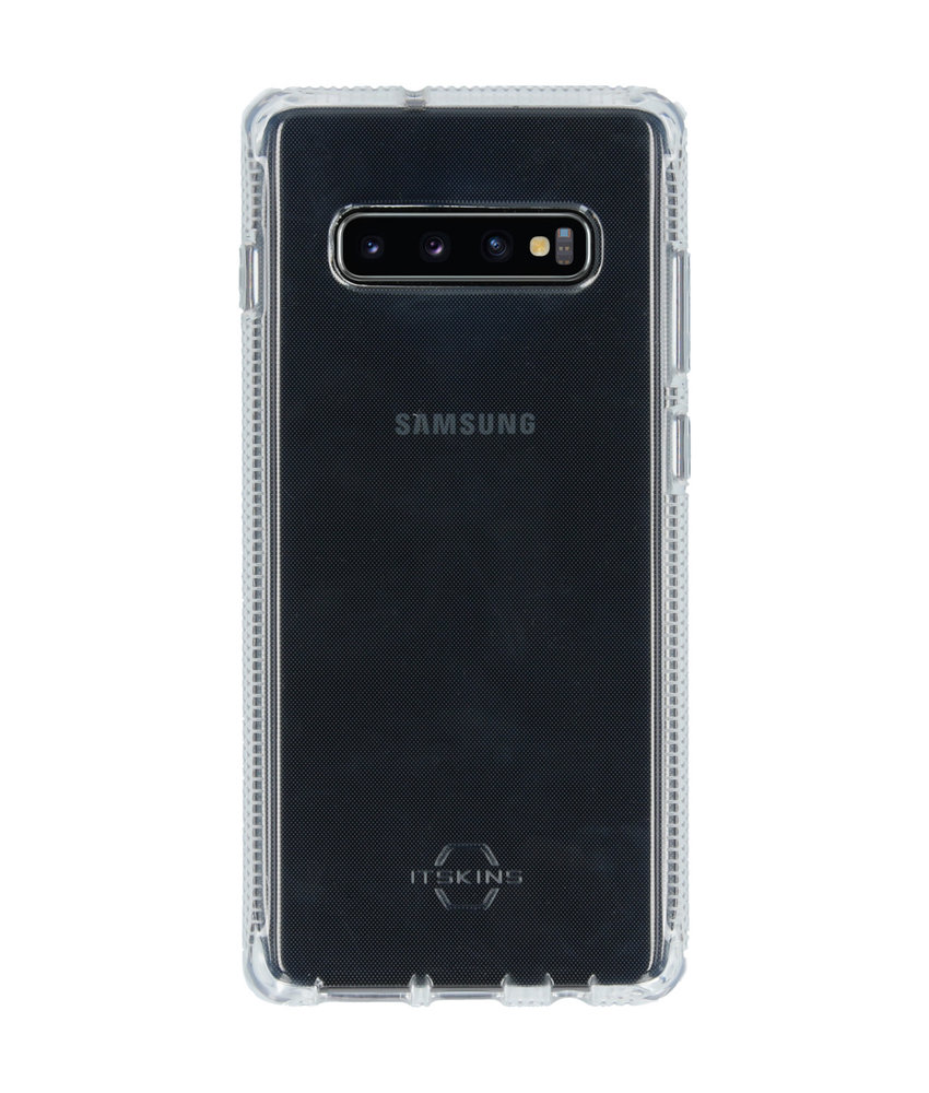 Itskins Spectrum Backcover Samsung Galaxy S10 Plus - Transparant