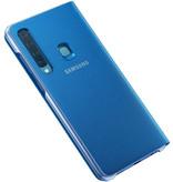 Samsung Wallet Booktype voor de Samsung Galaxy A9 (2018) - Blauw