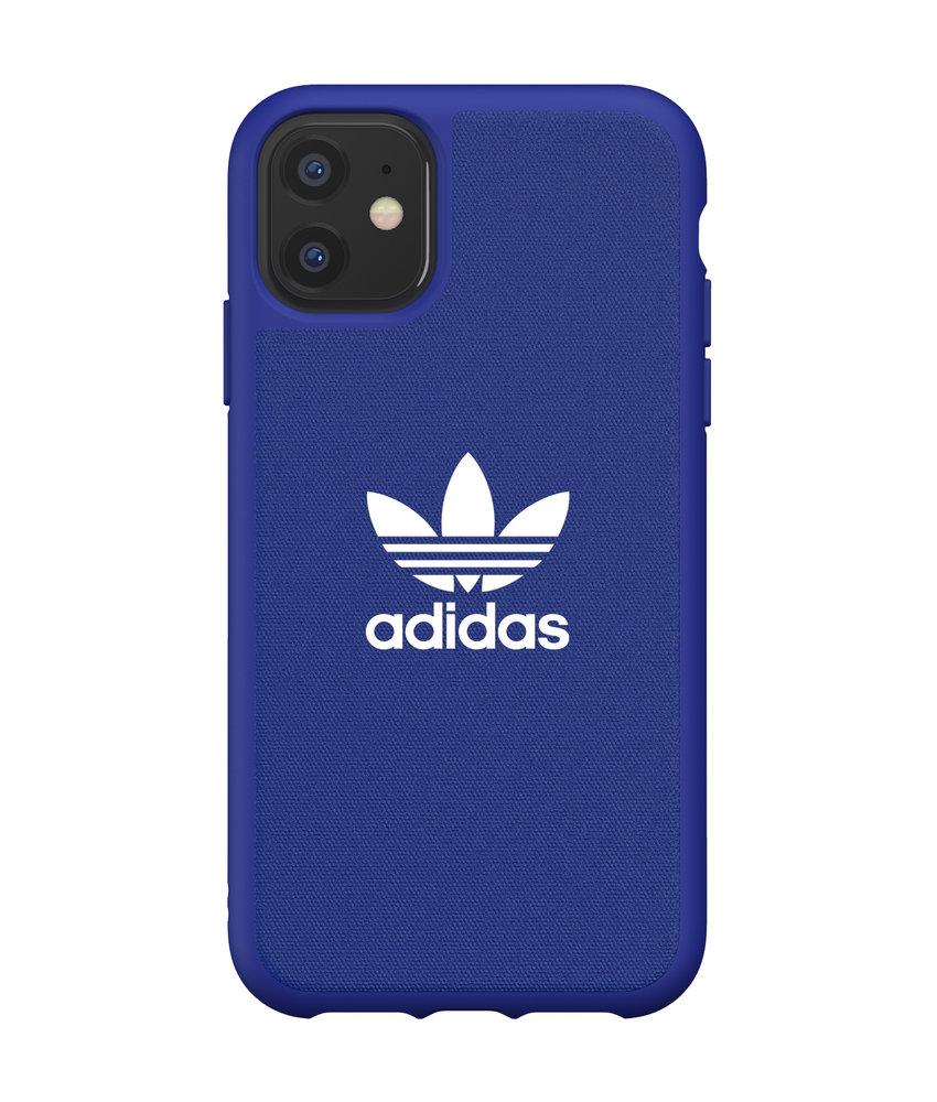adidas Originals Adicolor Backcover iPhone 11 - Blauw