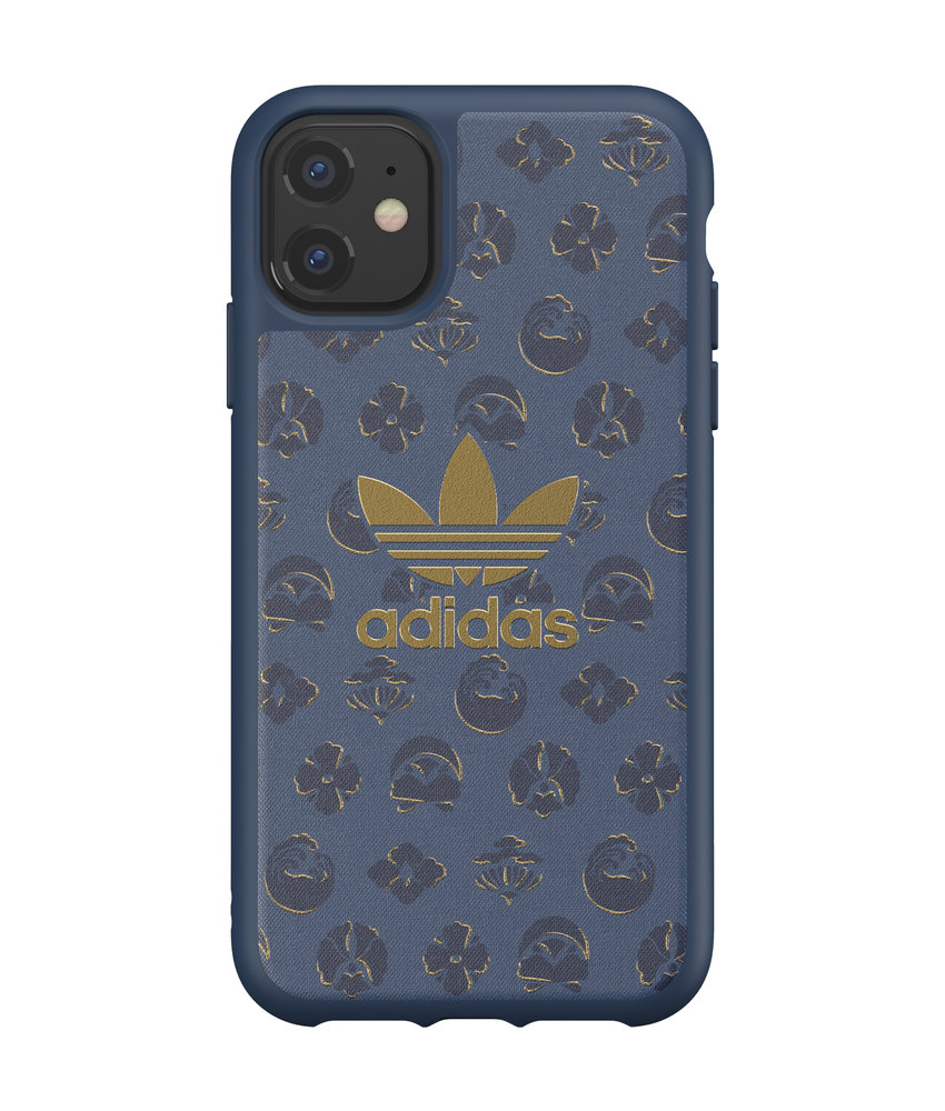 adidas Originals Basics Backcover iPhone 11 - Shibori Blauw