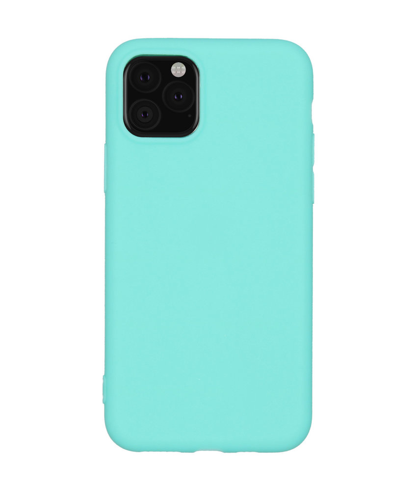 iMoshion Color Backcover iPhone 11 Pro - Mintgroen