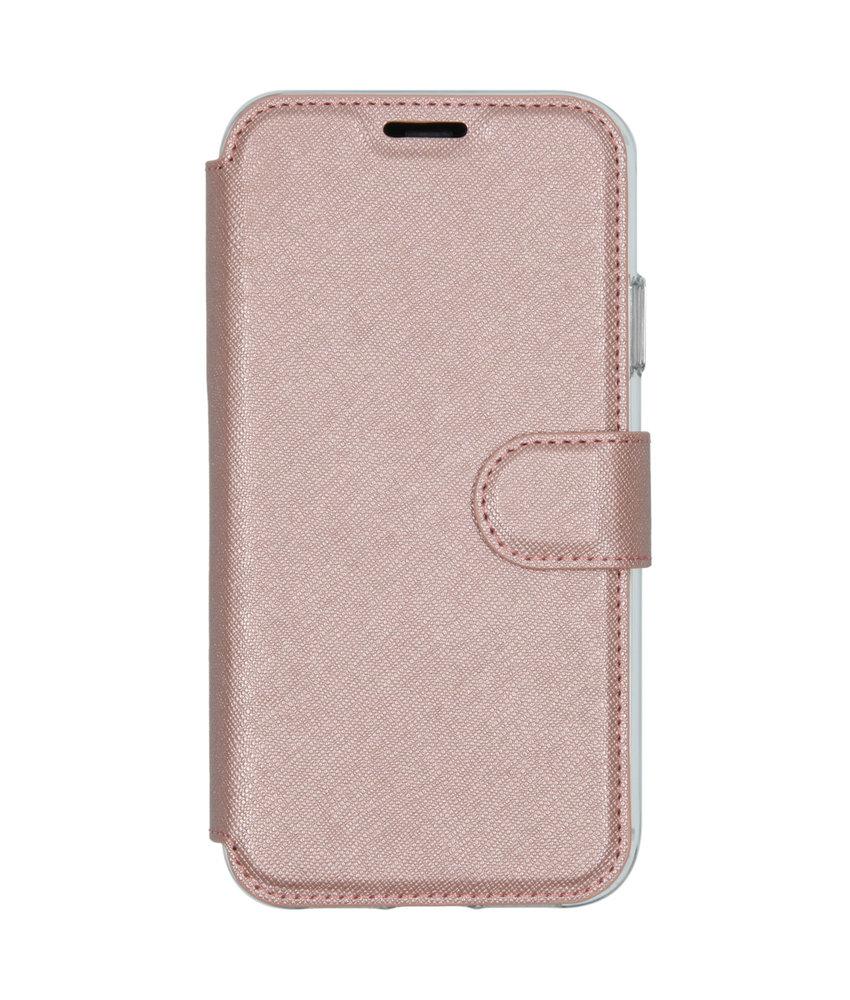 Accezz Xtreme Wallet Booktype iPhone 11 - Rosé Goud