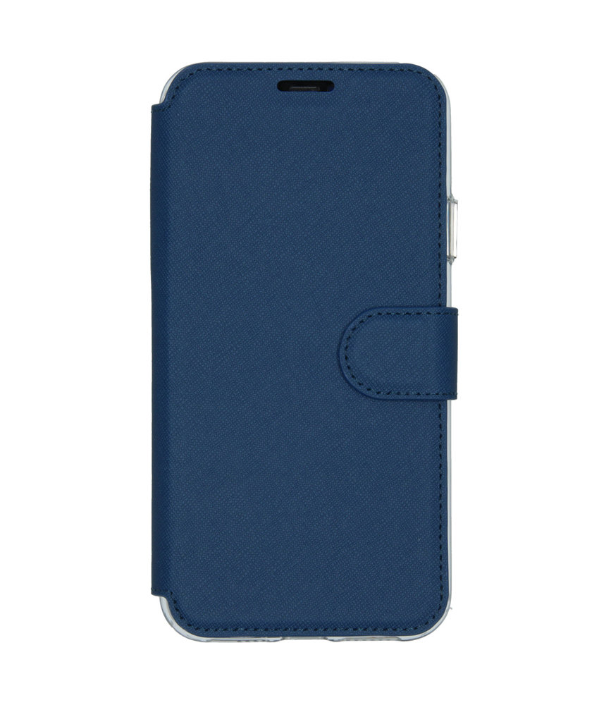 Accezz Xtreme Wallet Booktype iPhone 11 Pro Max - Blauw