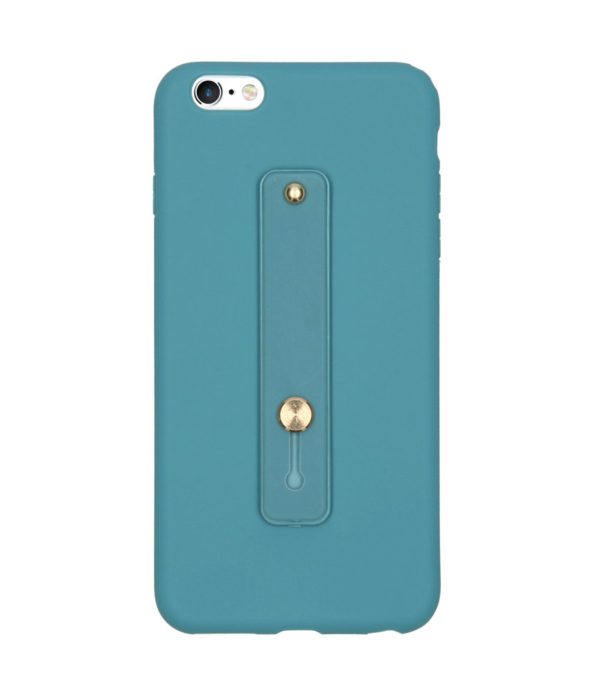Softcase Backcover met Lus iPhone 6(s) Plus - Turquoise