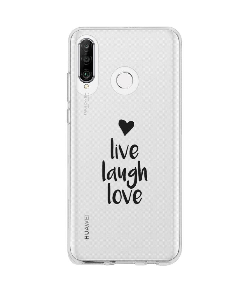 Design Backcover Huawei P30 Lite