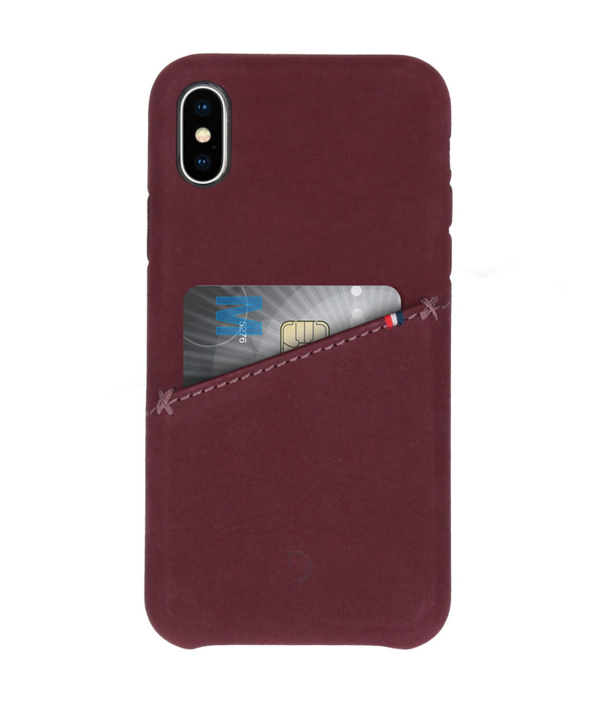Decoded Leather Snap On Backcover iPhone X