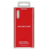 Samsung Silicone Backcover voor de Samsung Galaxy Note 10 - Rood