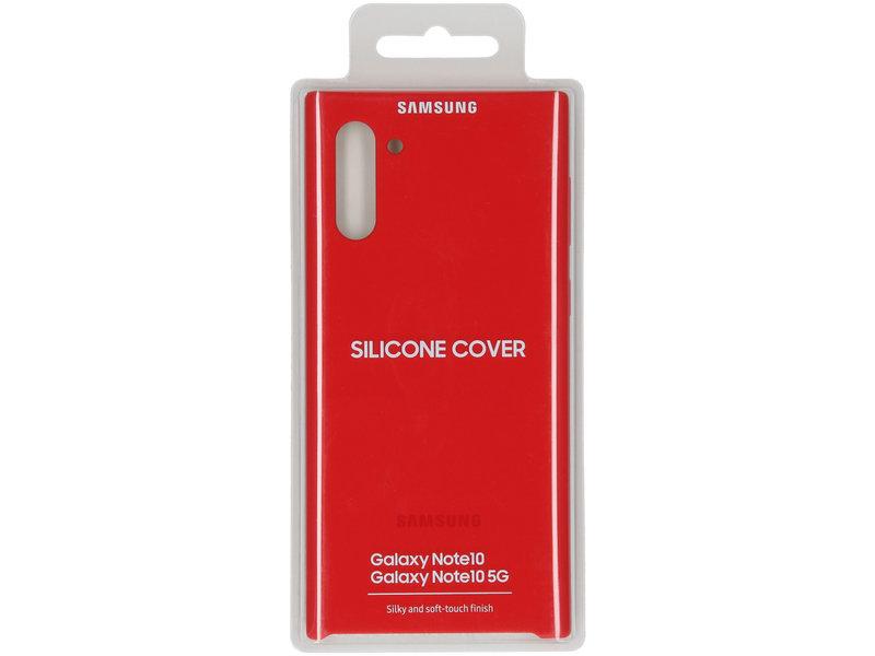 Samsung Galaxy Note 10 hoesje - Samsung Silicone Backcover voor