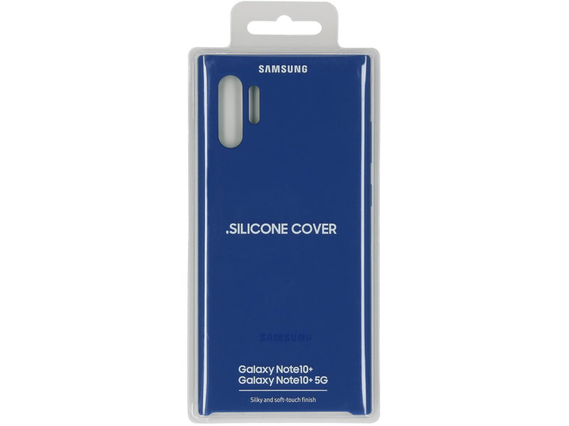 Samsung Galaxy Note 10 Plus hoesje - Samsung Silicone Backcover voor