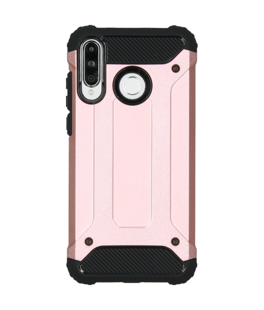 iMoshion Rugged Xtreme Backcover Huawei P30 Lite - Rosé Goud